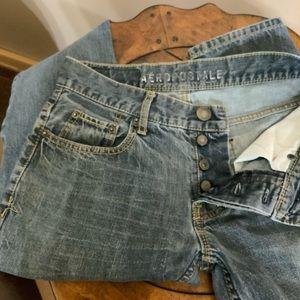 Aeropostale button fly Skinny jeans EUC